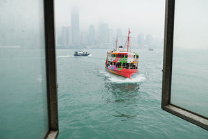 Star Ferry at Victoria Harbour, Hong Kong