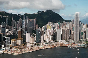 Aerial View of Central, Victoria Harbour