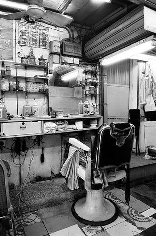 Barber Shop, Tai Kok Tsui, Kowloon, 2010