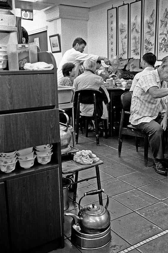 Lin Heung Tea House Dim Sum restaurant, Central / Hong Kong