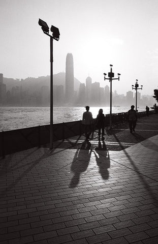 Late evening at Harbour front, Hong Kong
