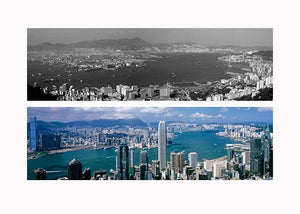 Then and Now Hong Kong Collection - Victoria Harbour 1940s