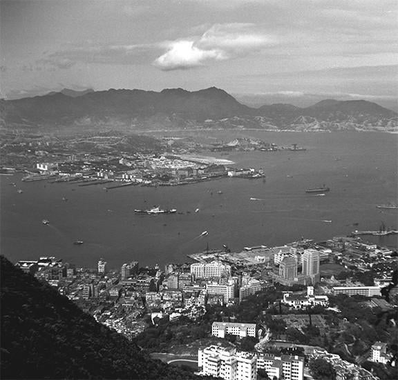 Old Hong Kong Collection - Victoria Harbour 1940s