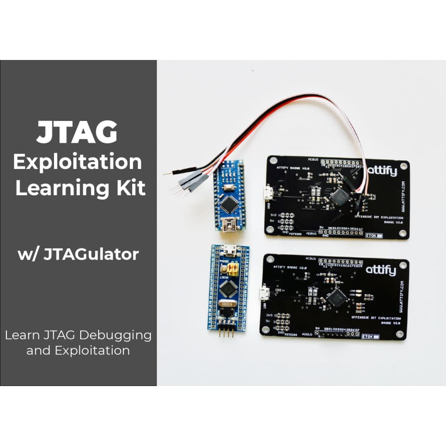 JTAG Security and Exploitation Learning kit