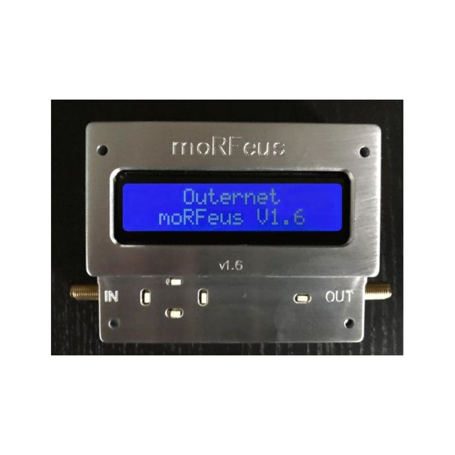 MoRFeus - A field-configurable wideband frequency converter and signal generator - Electronics