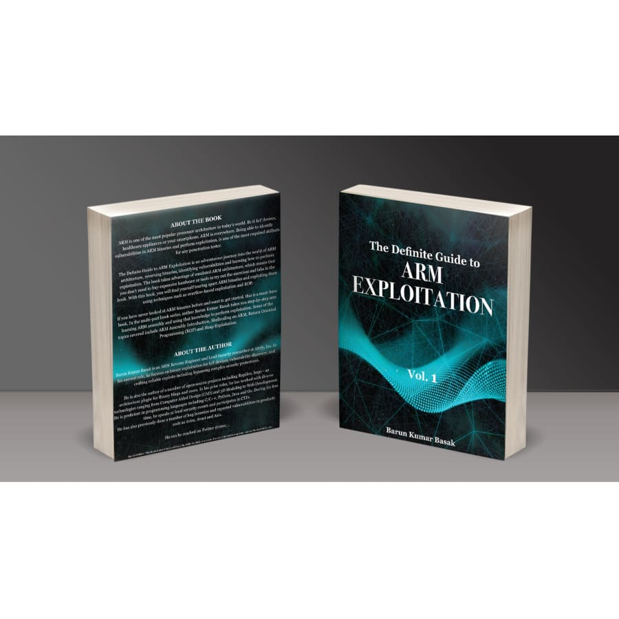 The Definite Guide to ARM Exploitation - Volume 1 - Book
