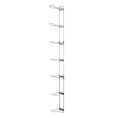 Knape & Vogt John Sterling Sports Rack, 7-Ball Capacity