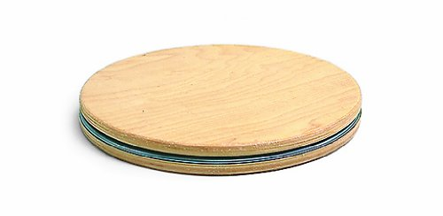 "Balanced Body Traditional Rotator Disc, Wood 15""/38cm, No Resistance (Ea)"