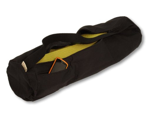 79b8a273faec Bean Products Bean Yoga Mat Bag Extra Large Easy Open Zipper 100% Cotton  Made In USA - 27in L x 7in