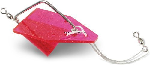 Luhr Jensen Pink Lady Diver, Pink Crystal, 4 1/2-Inch by South Bend Sporting Goods