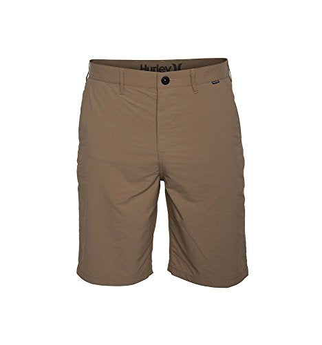"Hurley Men's Dri-Fit Chino 21.5"" Khaki 34"