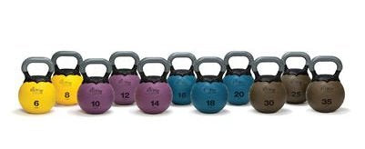 Kettlebell Medicine Ball Color / Weight: Yellow / 6 Lbs