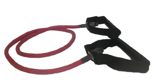 Balegoã'â® Resistance Tubing With Handles, Heavy (Red)