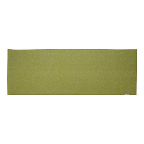 Rumi   Natural Yoga Mat   Moon Yoga Mat   24 Inches X 68 Inches X 3 Mm (Leaf Green)   Non Slip, Dura