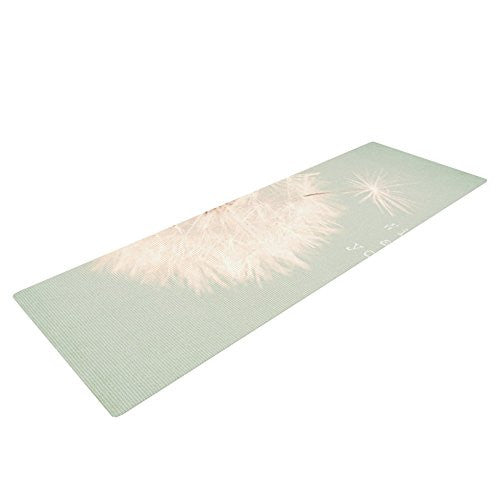 Kess In House Debbra Obertanec Wishes Are Dreams Yoga Exercise Mat, Fuzzy, 72 X 24 Inch
