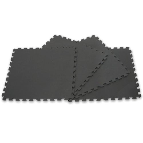 4 Piece Floor Mat Set, Covers Nearly 16 Sq Ft Of Floor Space