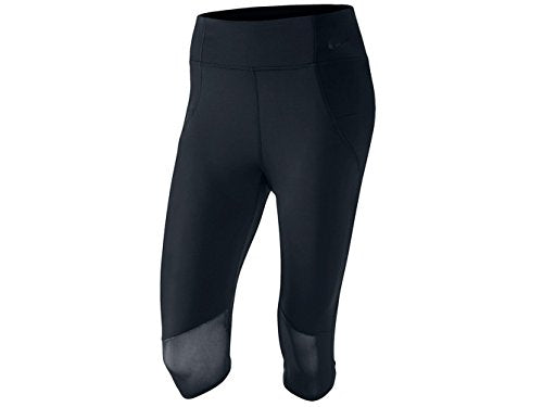 Nike Womens Motion Training Capris Black Small