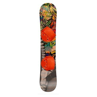 FREERIDE 110 BEGINNER LEVEL 2 SNOWBOARD, FIT FOR RIDER UP TO 95LBS BOARD DESIGNS WILL VARY FROM PHOT