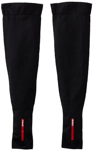 c217222e81 2 Xu Men's Compression Leg Sleeves,Black/Black, Xx Large