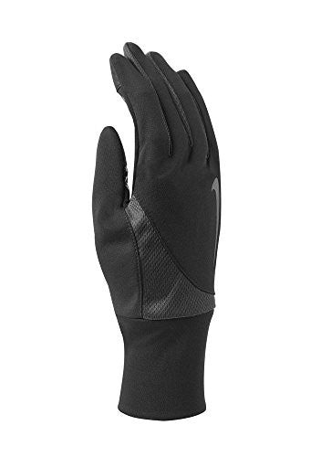 Nike Men's Dri Fit Tailwind Run Gloves (X Large, Black/Anthracite)
