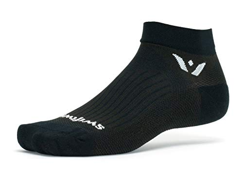 Swiftwick  Performance One | Golf Socks For Men And Women | Lightweight, Wicking, Cushioned Ankle So