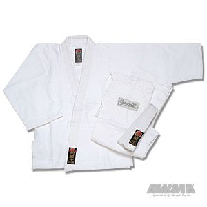 Pro Force Gladiator Judo Gi/Uniform - Bleached White - Size 4