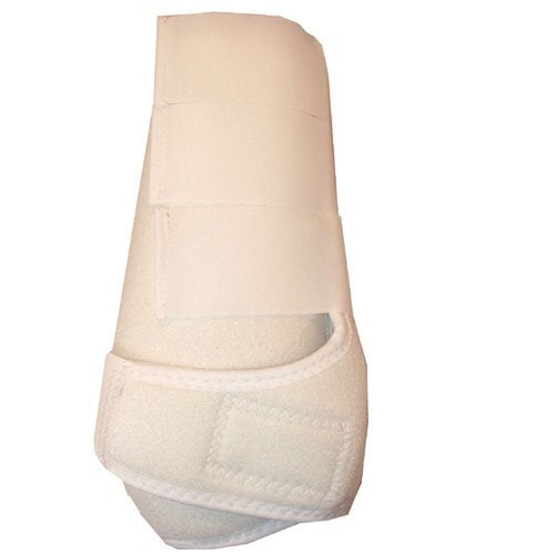 Intrepid International All Around Sport Horse Boots, White, X Large By Intrepid International