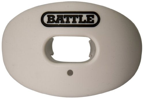 Battle Oxygen Lip Protector Mouthguard, White