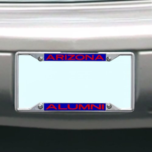 NCAA Arizona Wildcats License Plate Frame Alumni