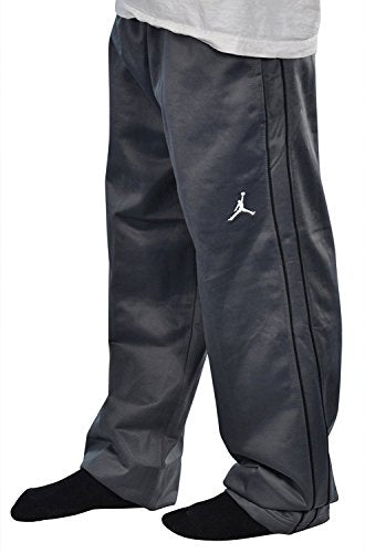 77069fded73063 Jordan Boys Nike Jumpman Athletic Training Pants Gray Black Small ...