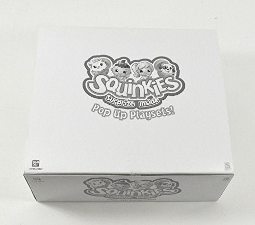 Squinkies Pop Up Play Set Cards and Figures Box - 15 Different Packs (Full Set of Series 1 Characters)