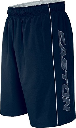 "Easton Men's M10 Stretch Woven 11"" Shorts, Navy, Small"