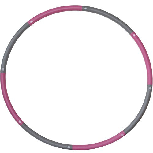 Result Sport The Original Foam Padded Level 1 Weighted 1.2kg (2.65lb) Fitness Exercise Hoop 100cm Wid