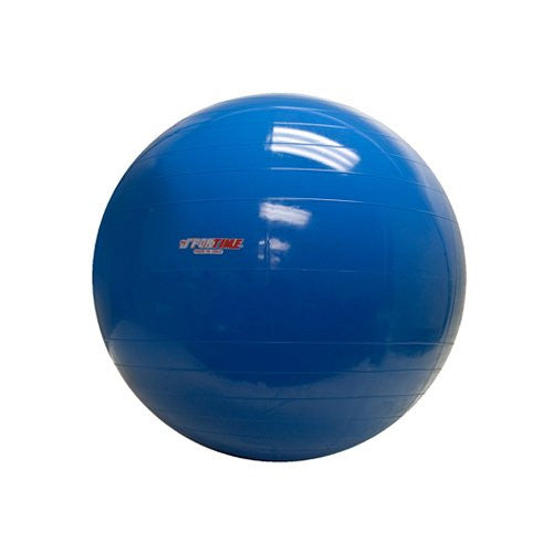 Physio Gymnic Molded Vinyl Inflatable Ball, Blue, 34 Inch