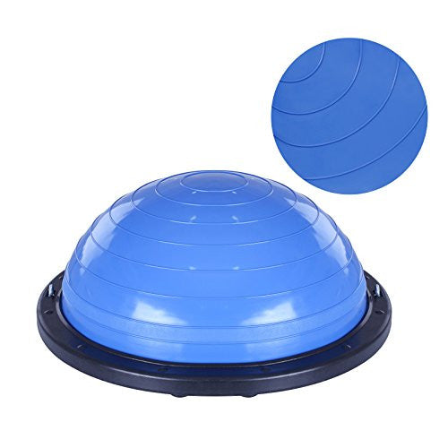 Vevor Balance Trainer Ball 23 Inch Balance Trainer Blue Yoga Balance Ball Fitness Strength Exercise