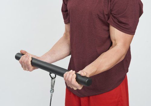 Cable Workout Bars For Arms Hog Legs 'Rack'