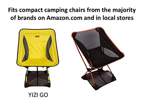 Trekology Sand Cover, Beach Mat and Ground Sheet - Prevent Portable Camping Chairs from Sinking in Soft Grounds, Sand or Grass - Anti-Sinking Solution Fits Most Compact Folding Camp Backpacking Chair