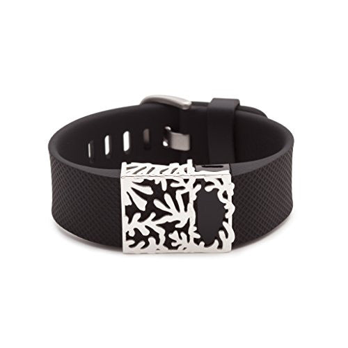 Special Offer   Sterling Silver Matisse Slide For Fitbit Charge & Charge Hr