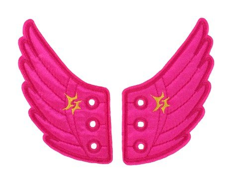 Pink Wing Shoe Shwings