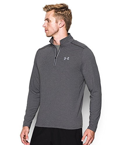 Under Armour Men's Streaker Run 1/4 Zip , Carbon Heather (090)/Reflective, Small