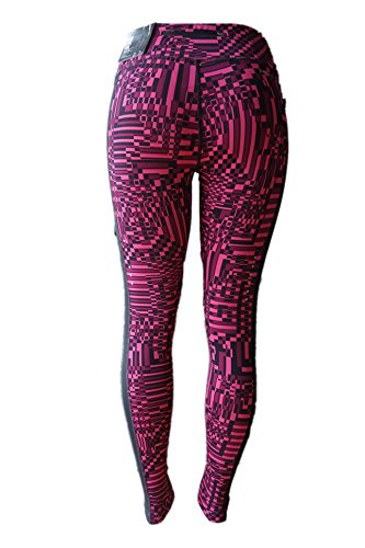 Nike Women's Epic Lux Printed Running Tights 686038 616 Yoga Fitness Pants Sz S