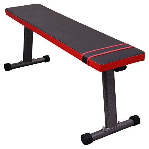 Abdominal Ab Flat Bench Crunch Sit Up Training Gym Weight Board Fitness Workout