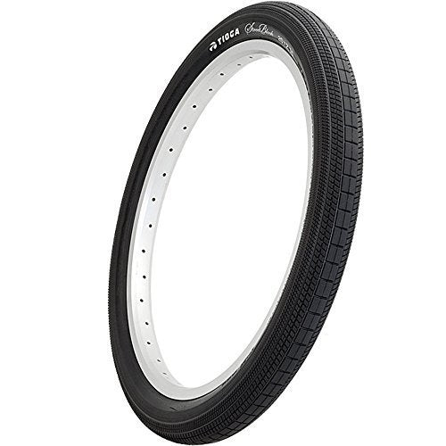 Tioga StreetBlock Wire Bead Tire, 20x2.25-Inch, Black/Black by Tioga