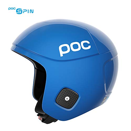 POC Skull Orbic X Spin, High Speed Race Helmet, Basketane Blue, Large