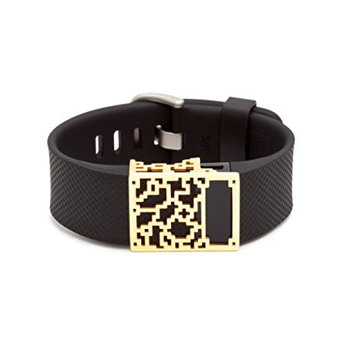 Special Offer   18 K Gold Positive Charge Slide For Fitbit Charge & Charge Hr