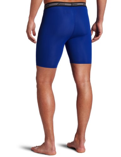 Asics Men's Compression Short 7, Royal, X Small