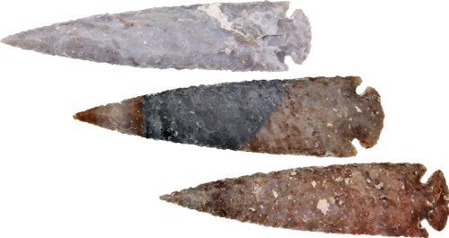 Arrowhead Assortment Extra Large Contains 10 pieces Arrowheads measure approxi by Arrowhead