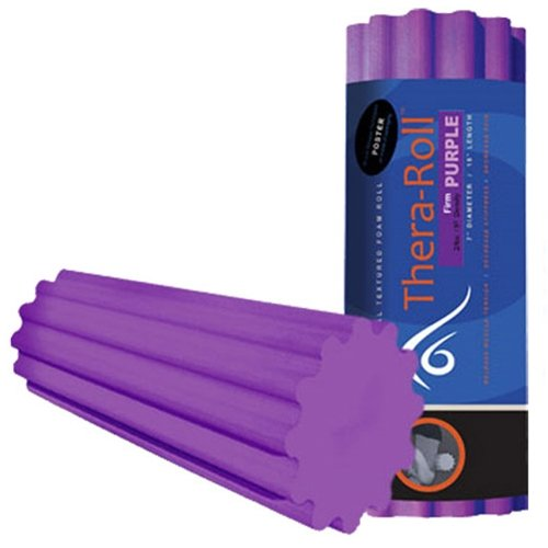 "Thera Roll   7"" X 36"" Massage Roller, Firm   Purple"