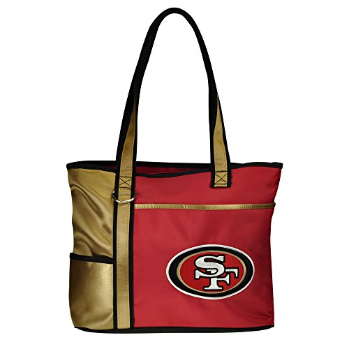 NFL San Francisco 49ers Tote Bag with Embroidered Logo