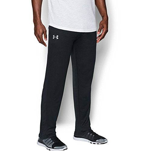 Under Armour Men's Tech Terry Pants, Black (001)/Silver, X-Large